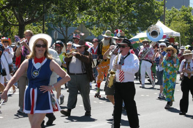 Redwood City July 4th Parade